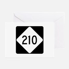 Highway 210, North Carol Greeting Cards (Pk of 10)