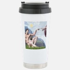 Creation-Pug 1 Travel Mug