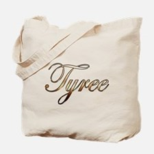 Gold Tyree Tote Bag