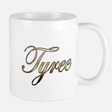 Gold Tyree Small Small Mug