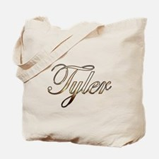 Gold Tyler Tote Bag