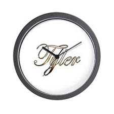 Gold Tyler Wall Clock