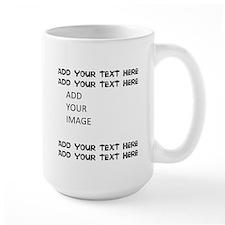 Custom Text and Image Mugs