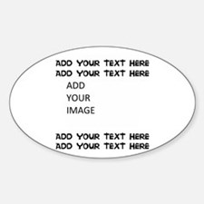 Custom Text And Image Bumper Stickers