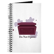 Do Not Open Journal