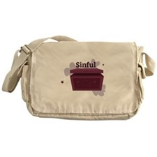 Sinful Messenger Bag