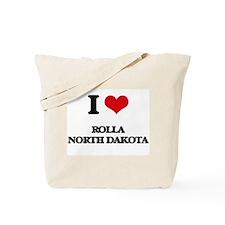 I love Rolla North Dakota Tote Bag