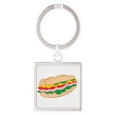 Sub Sandwich Keychains