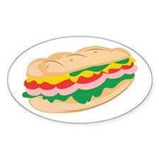 Sub Sandwich Decal