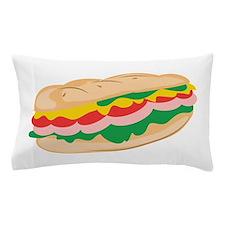 Sub Sandwich Pillow Case