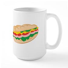Sub Sandwich Mugs