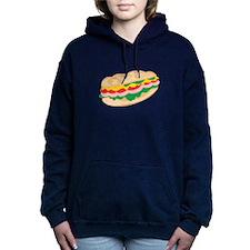 Sub Sandwich Women's Hooded Sweatshirt