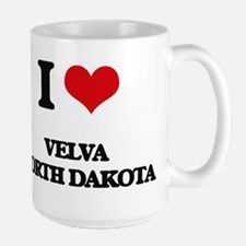 I love Velva North Dakota Mugs