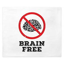 Brain Free King Duvet