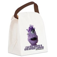 cookie t-shirt2.png Canvas Lunch Bag