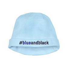 #blueandblack baby hat