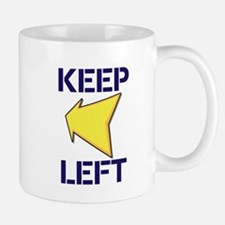 Keep Left Mugs