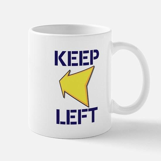 Keep Left Mugs