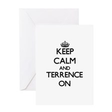 Keep Calm and Terrence ON Greeting Cards
