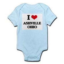 I love Ashville Ohio Body Suit