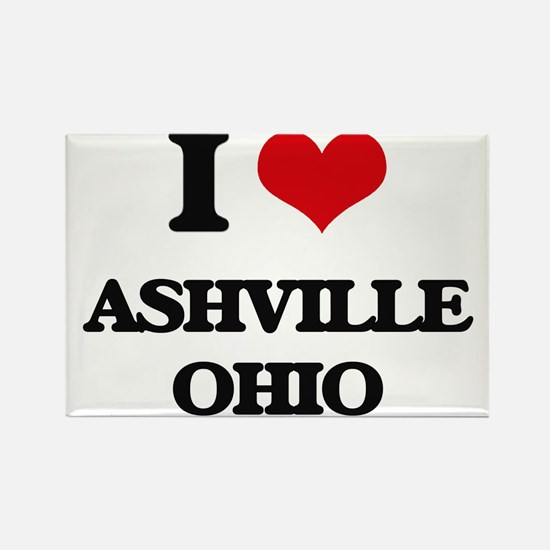 I love Ashville Ohio Magnets