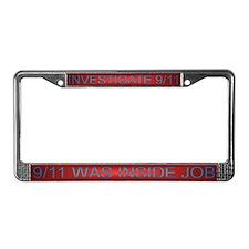 9/11 Truth License Plate Frame