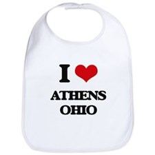 I love Athens Ohio Bib