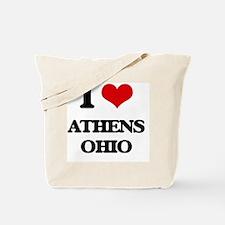 I love Athens Ohio Tote Bag
