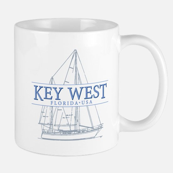 Key West Sailboat Mugs