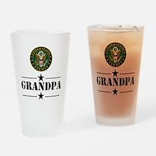 U.S. Army Grandpa Drinking Glass