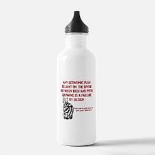 lefty cat Sports Water Bottle