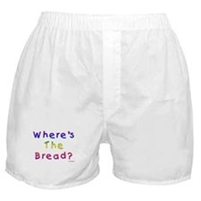 Where's The Bread Passover Boxer Shorts