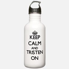 Keep Calm and Tristen Water Bottle