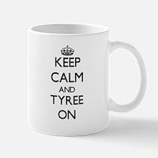 Keep Calm and Tyree ON Mugs