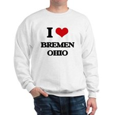 I love Bremen Ohio Sweatshirt