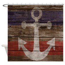 Nautical Anchor Shower Curtain Shower Curtain