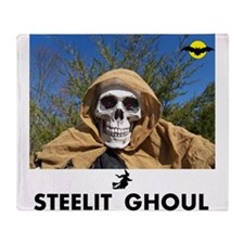 Steelit Ghoul. TOY STORY. Throw Blanket