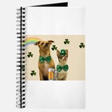 St. Patrick's Day Chihuhuas Journal