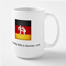 German Flag Logo Large Mug