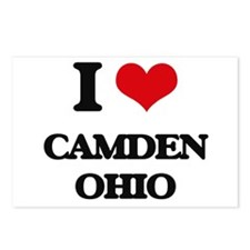 I love Camden Ohio Postcards (Package of 8)