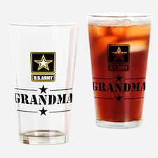 U.S. Army Grandma Drinking Glass