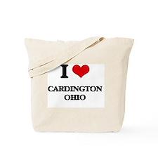 I love Cardington Ohio Tote Bag