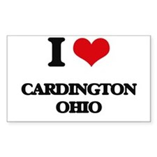 I love Cardington Ohio Decal