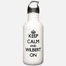 Keep Calm and Wilbert Water Bottle