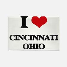 I love Cincinnati Ohio Magnets