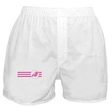 Cyclist Stripes (Pink) Boxer Shorts