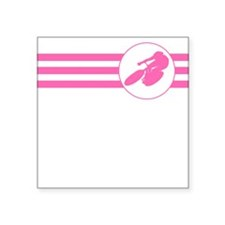 Cyclist Stripes (Pink) Sticker