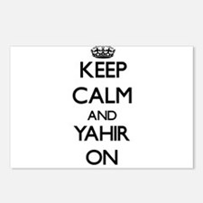 Keep Calm and Yahir ON Postcards (Package of 8)