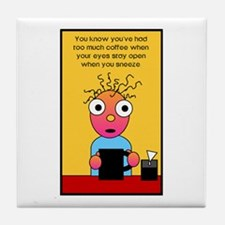 Coffee Lover's Tile Coaster