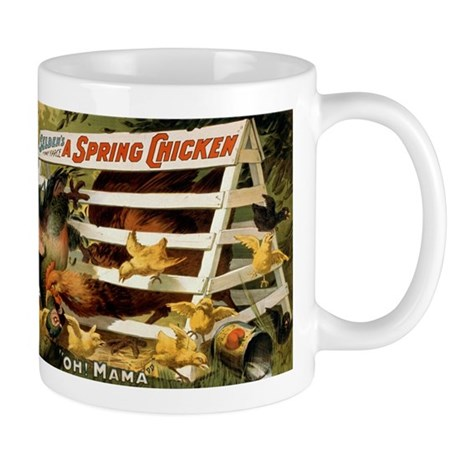 SPRING CHICK coffee cup